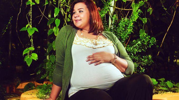 pregnant breast